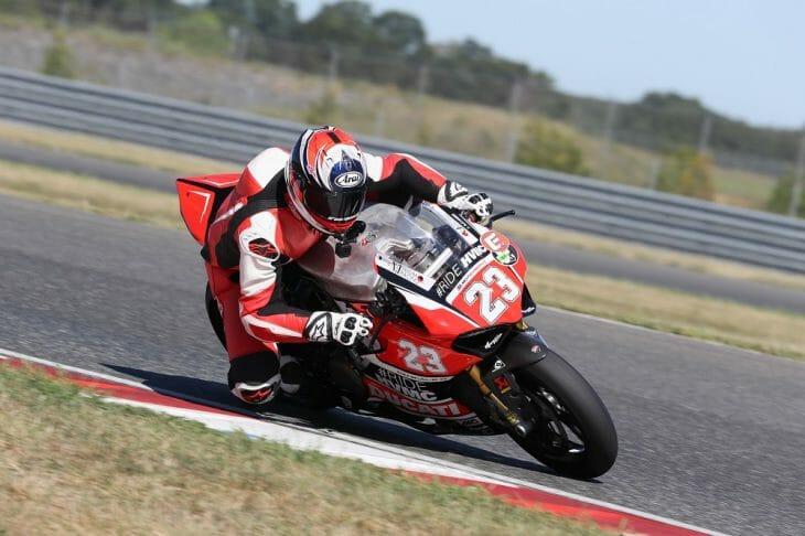 Team #RideHVMC Ducati Panigale R