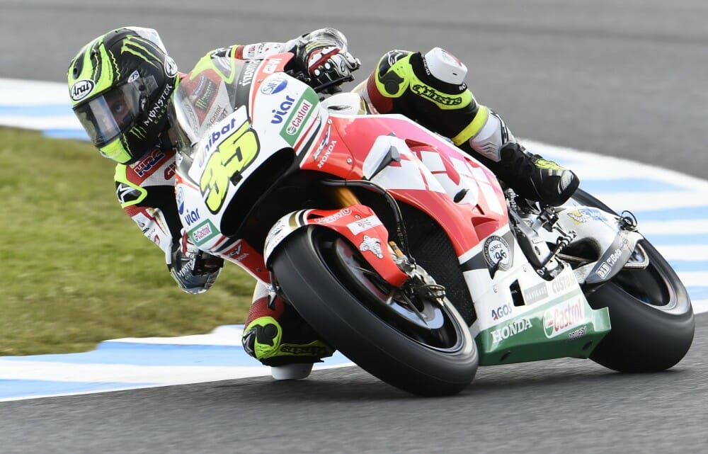 Cal Crutchlow scored his second career MotoGP victory Sunday in Phillip Island