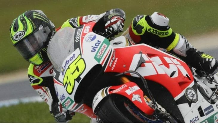 Cal Crutchlow was fastest Friday in MotoGP at Phillip Island
