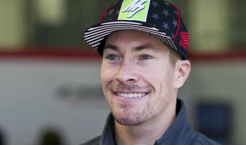 Nicky Hayden in for Dani Pedrosa at Phillip Island