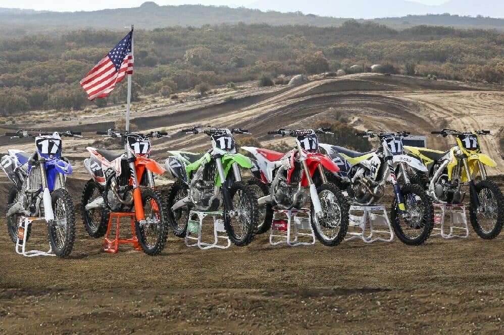 2017 250F Motocross Shootout