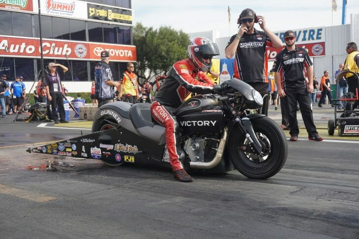 Victory Racing' Matt Smith