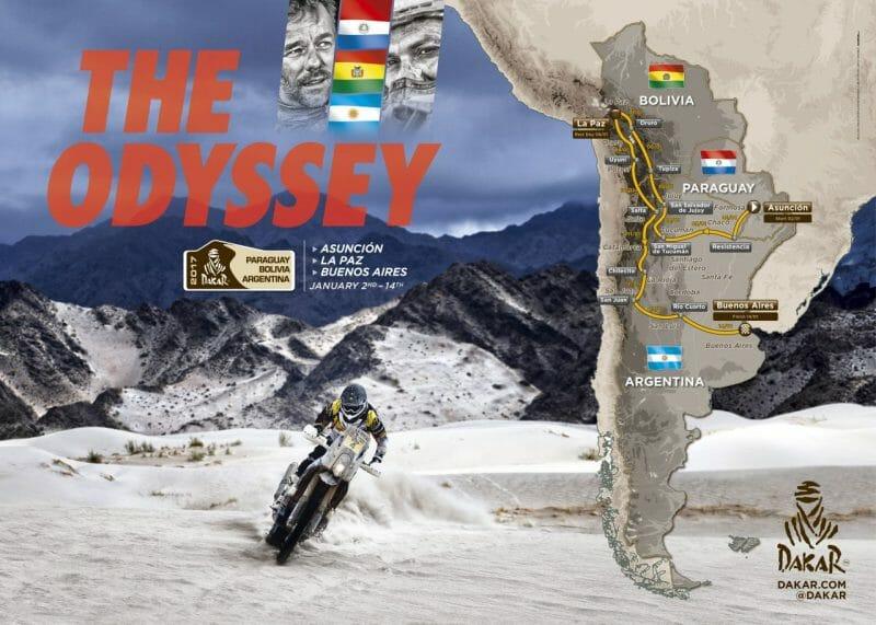 2017 Dakar Route Annouced