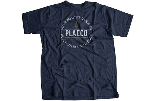 Plaeco Open Your Mind Tee - $20