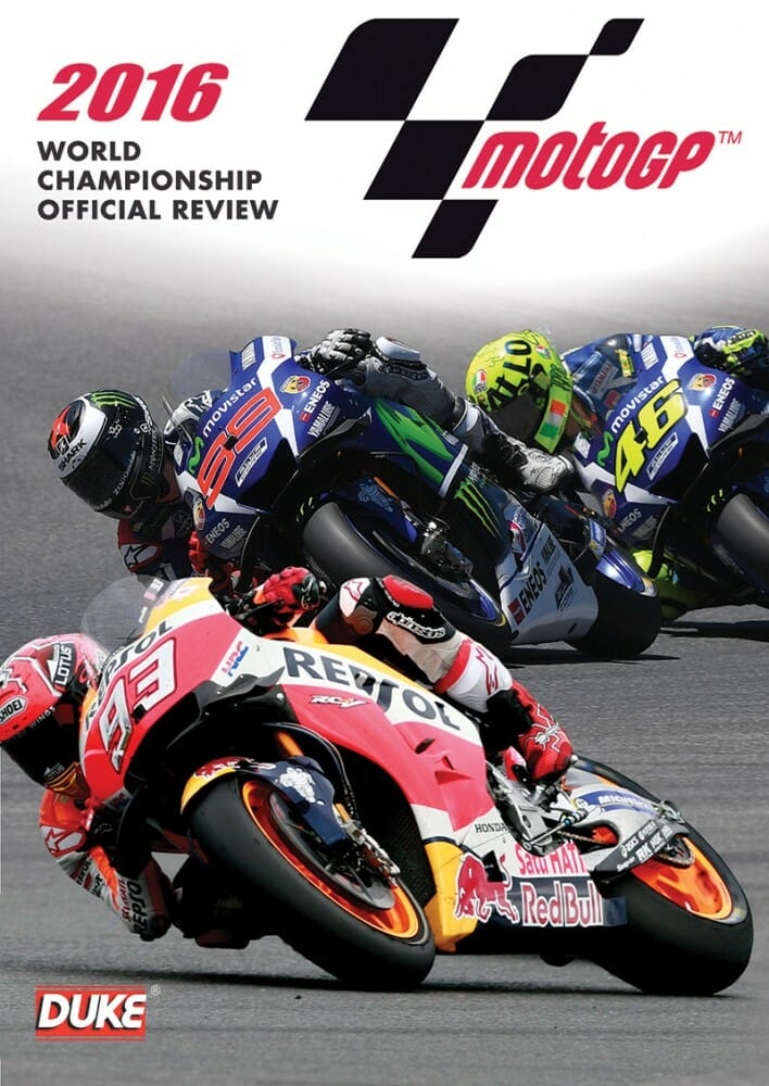 2016 MotoGP World Championship Official Review DVD