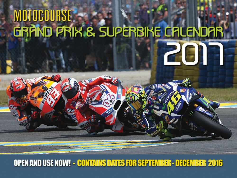Motocourse 2017 Grand Prix & Superbike Calendar