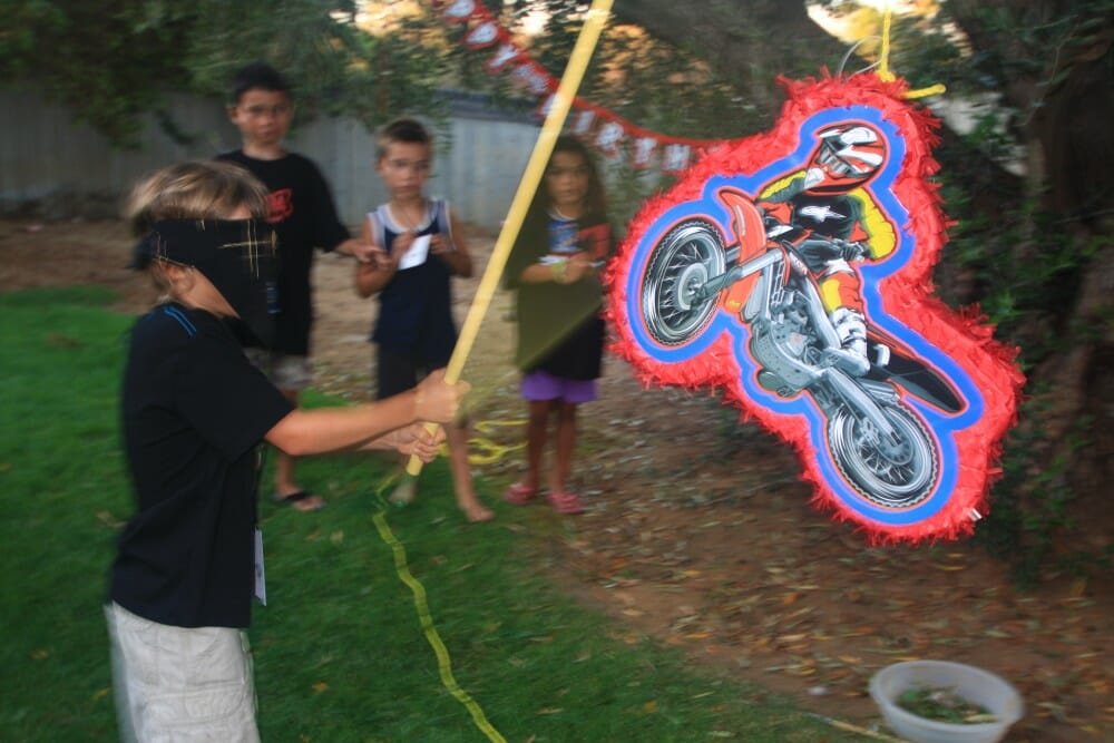 Smooth Industries' MX Superstars Party Pinata