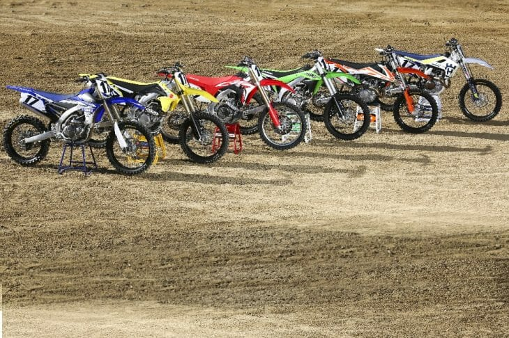 2017 450 Motocross Shootout