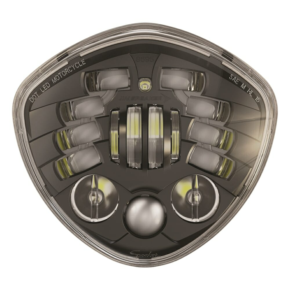 Dynamically Adaptive Motorcycle Headlight for Victory Motorcycles