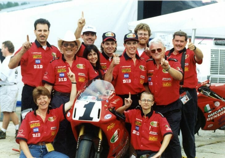 Fast by Ferracci celebrates the AMA Superbike Championship with Troy Corser