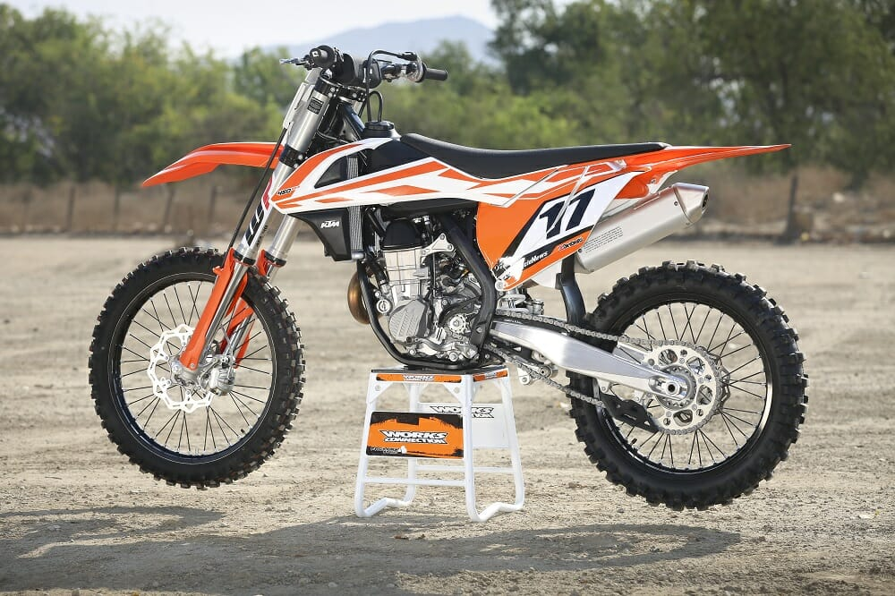 2017 450 motocross shootout cycle news. Black Bedroom Furniture Sets. Home Design Ideas