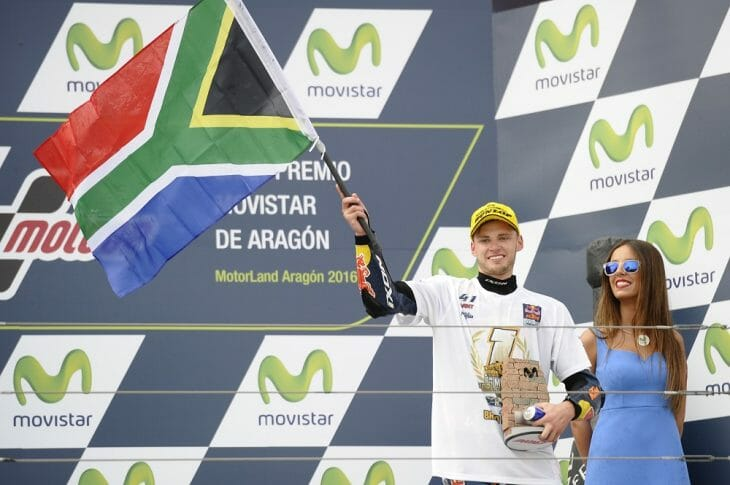 FIM Moto3 World Champion Brad Binder