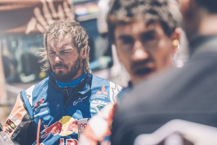 Toby Price is out of the Dakar.