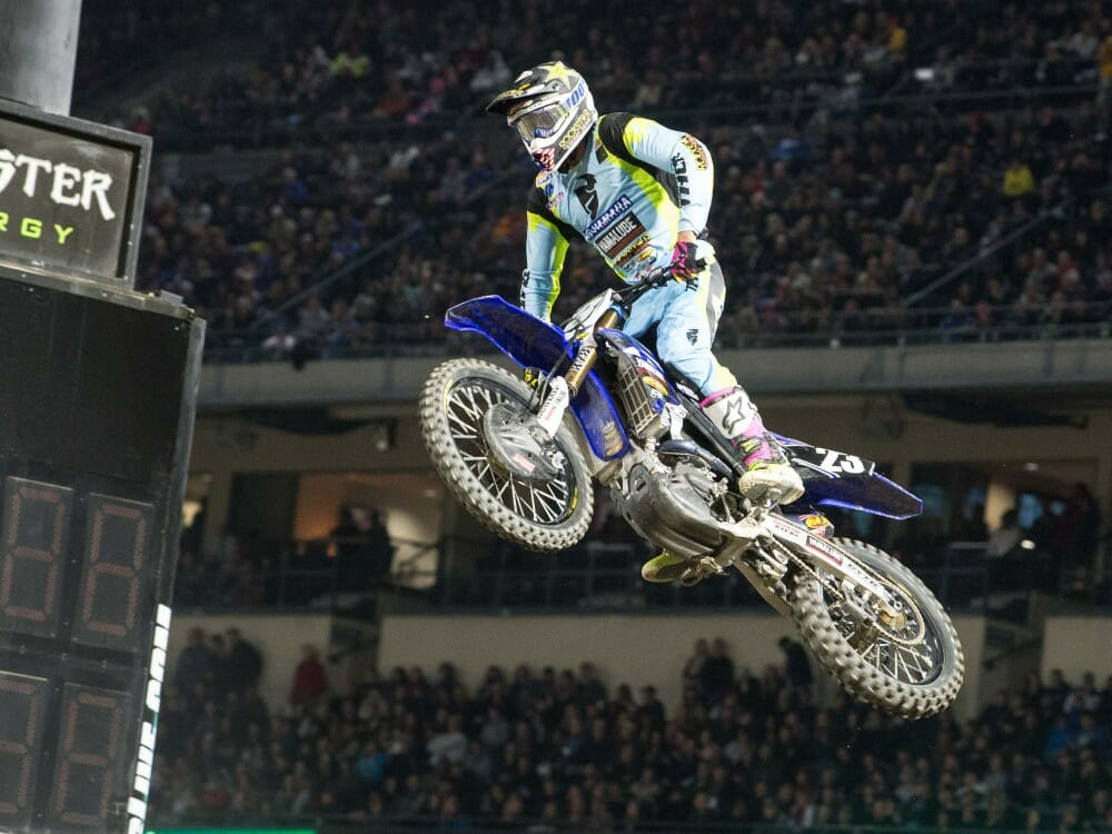 2017 Anaheim I Supercross 250 Results