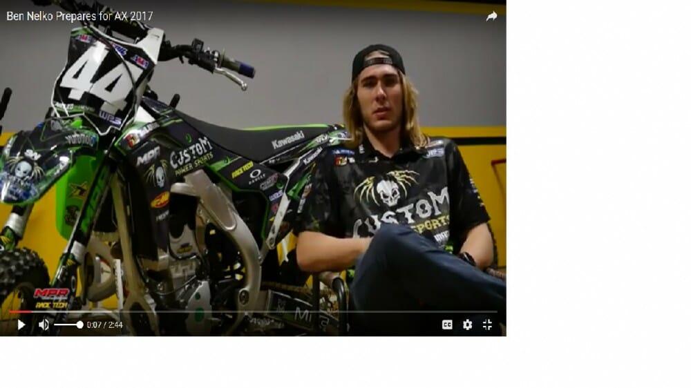 Ben Nelko Prepares for AX 2017 - Race Tech video
