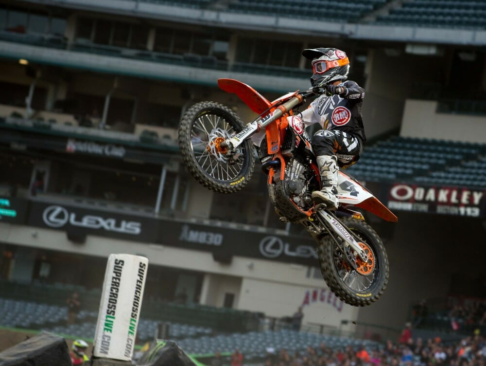 2017 Anaheim I Supercross Qualifying Results