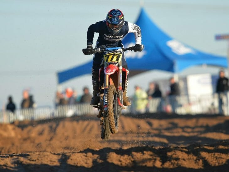 Blyne Thompson at the Adelanto Grand Prix