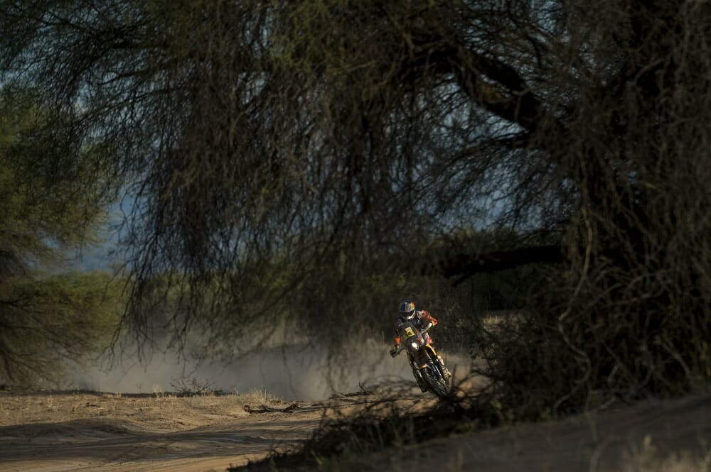 "Red Bull KTM's Sam Sunderland came into the Dakar as ""the most talented rally rider to have so far never finished a Dakar,"" but with luck on his side, the Brit rode to a historic win."