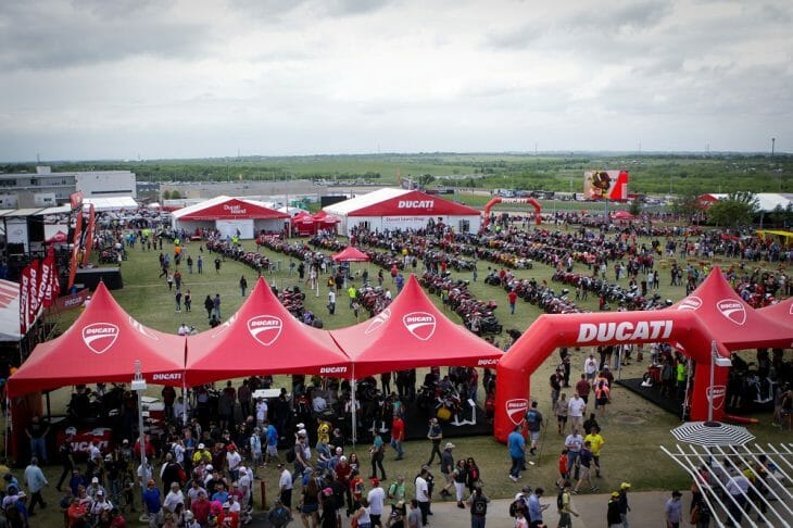 Ducati Island Returns to Circuit of Americas and Laguna Seca 2017