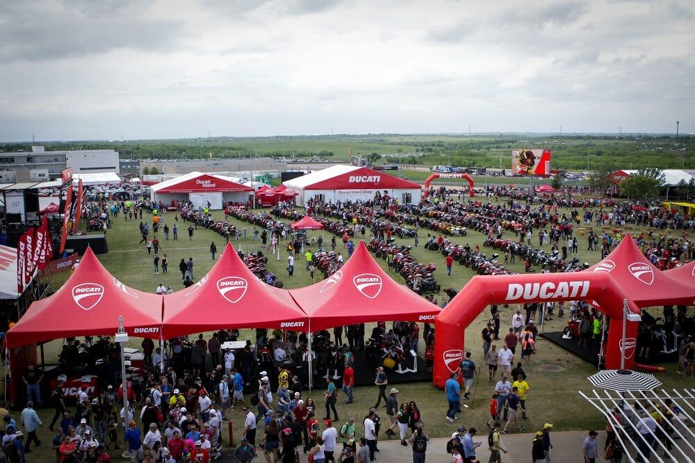 Ducati Island Returns to Circuit of Americas and Laguna Seca 2017