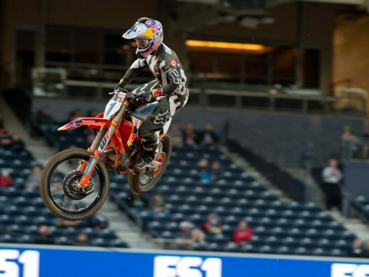 San Diego Supercross Qualifying