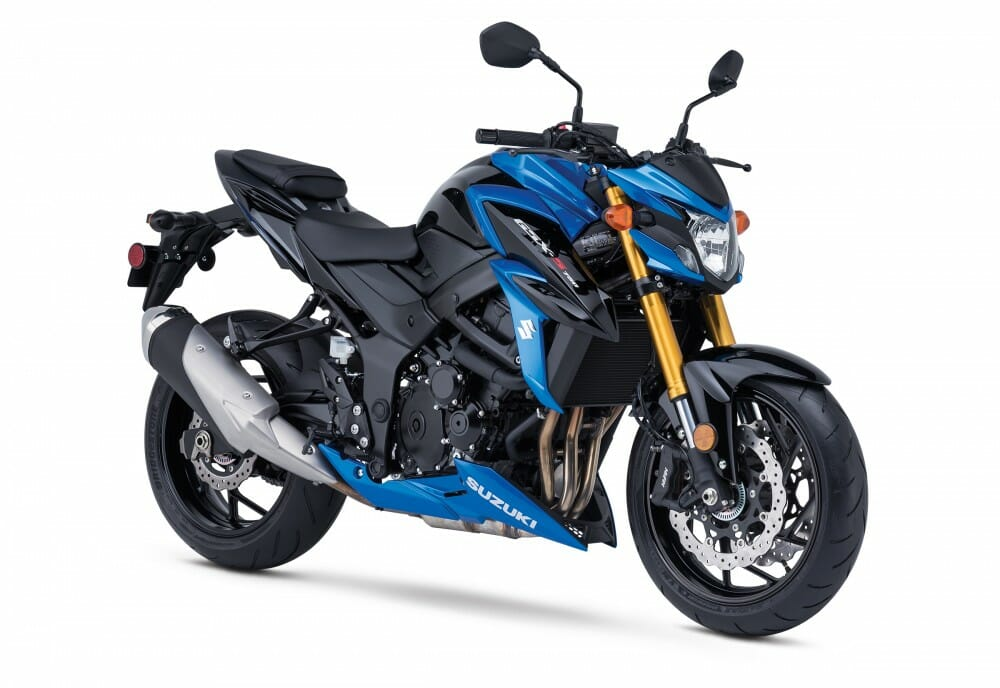 2018 suzuki c50t.  2018 blue with the gold forks looks awesome to 2018 suzuki c50t