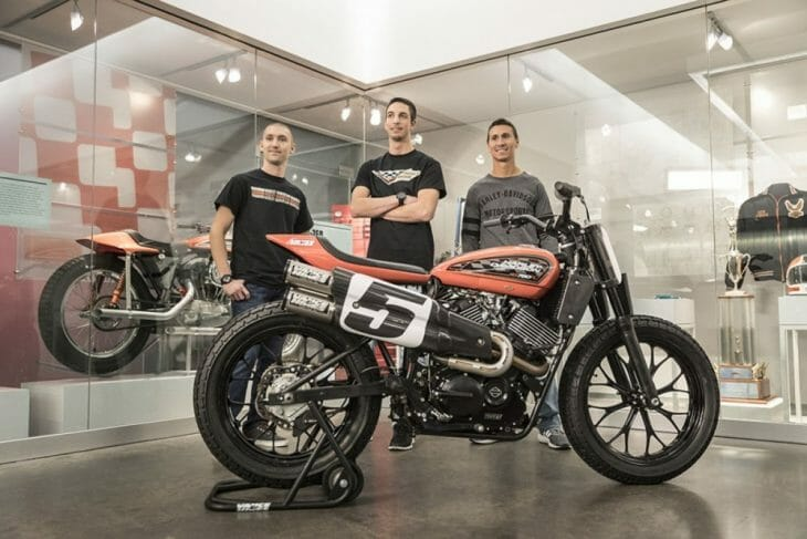 Team Harley-Davidson Flat Track 2017
