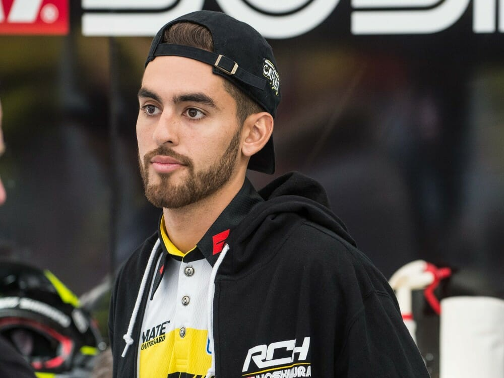 Justin Bogle Out For Phoenix Supercross