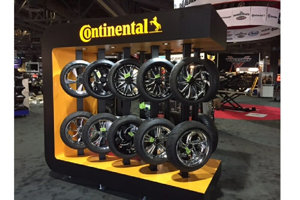Continental 2017 Motorcycle Tires