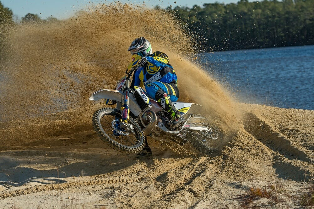 National Enduro Champion Andrew Delong