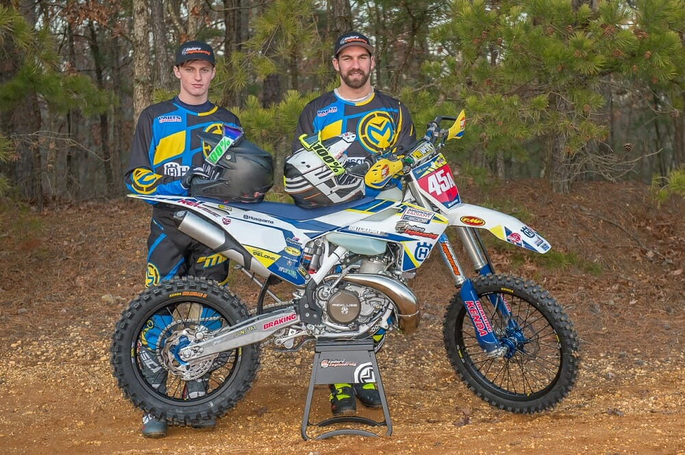 National Enduro Champion Andrew Delong and Thorn Devlin