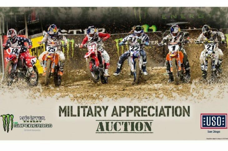Supercross Military Appreciation