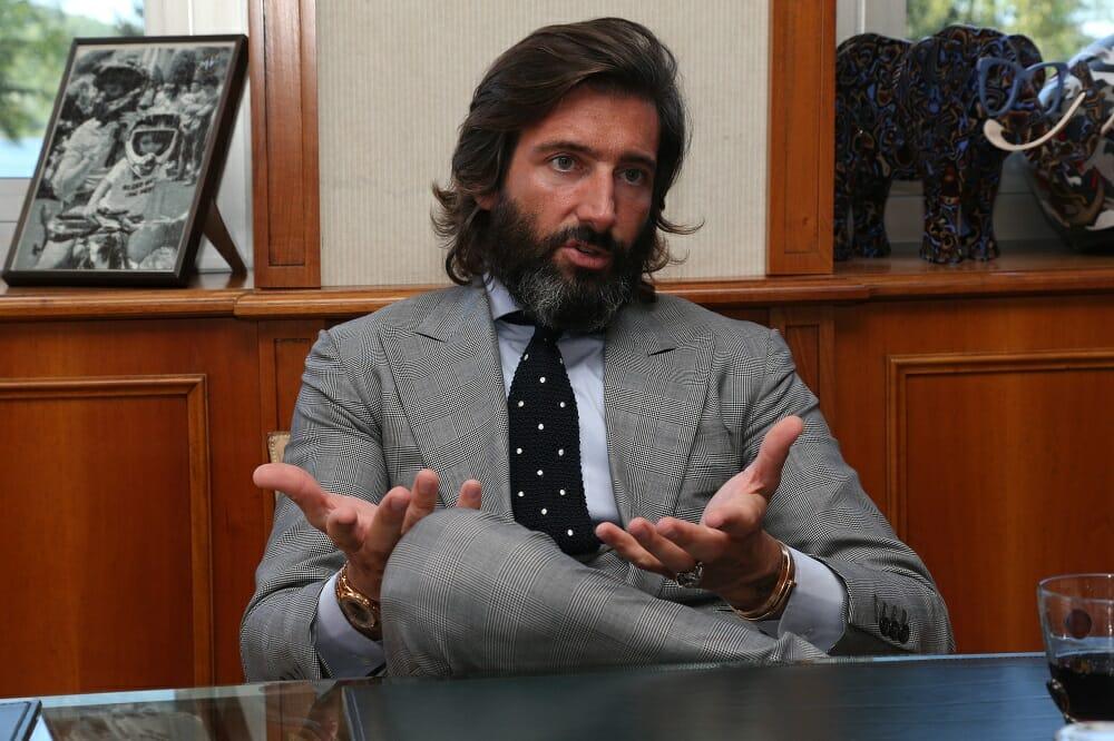 MV Agusta president Giovanni Castiglioni