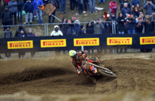 "Pirelli Riders Shine at the Final Round of the ""International d' Italia of Motocross 2017"" in Ottobiano"