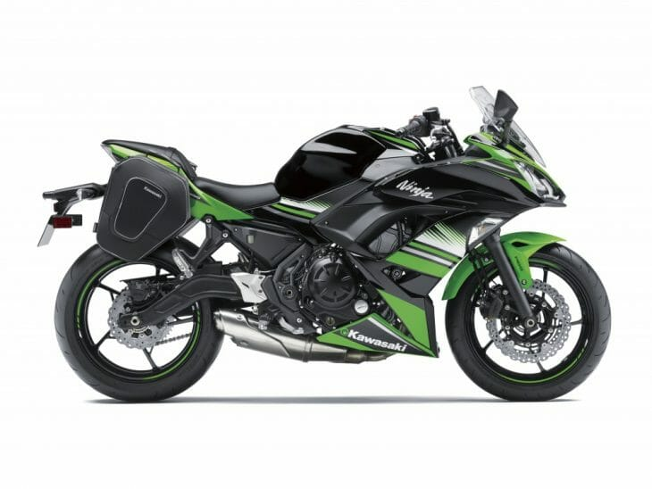 Kawasaki Ninja Saddlebags