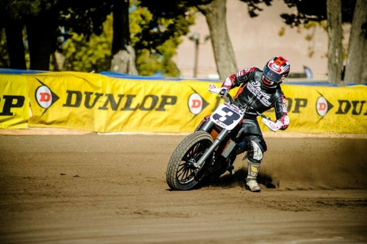 Dunlop Expands Support of American Flat Track Series