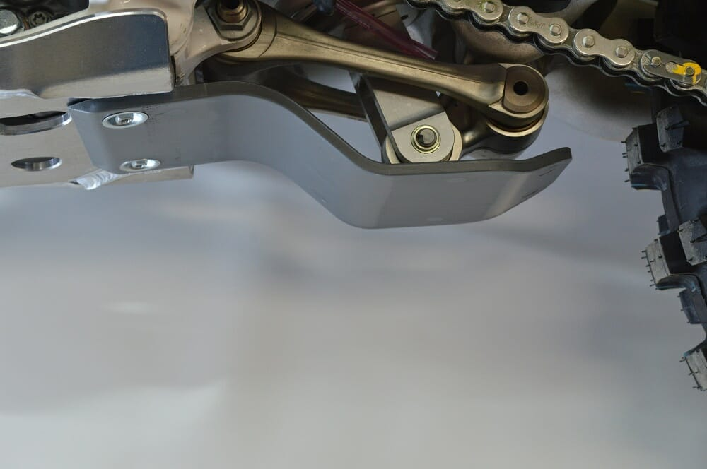 Enduro Engineering's Linkage Guard for KTM