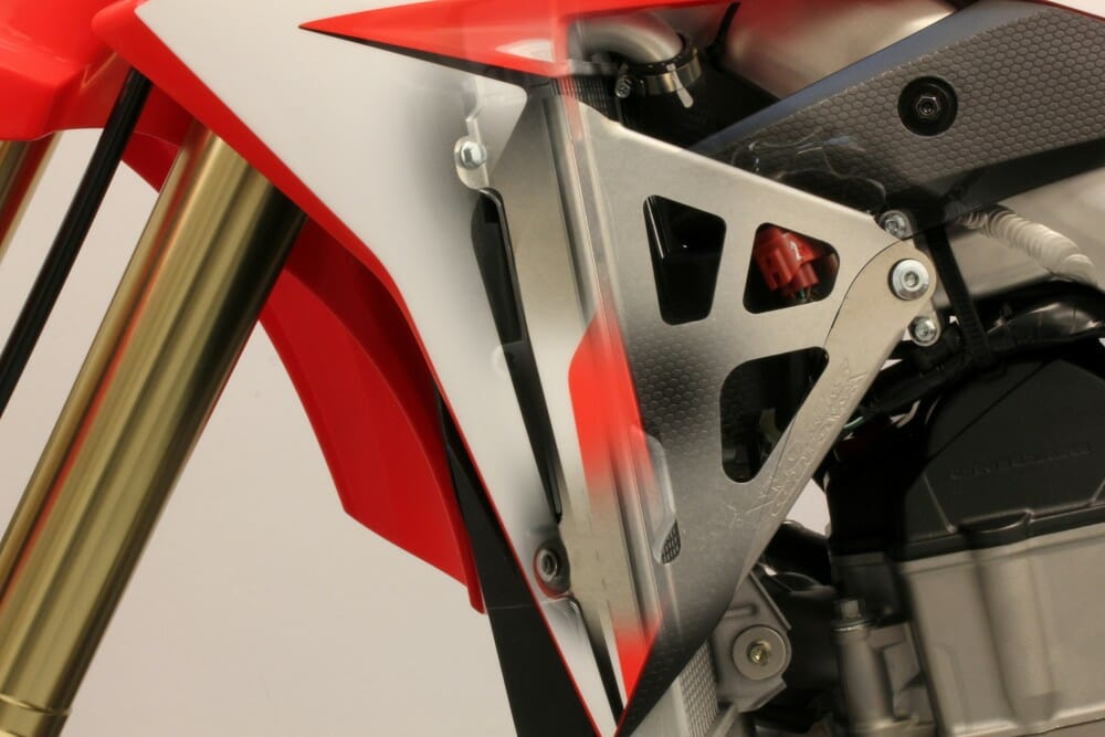 Works Connection's 2017 Honda CRF450R Radiator Braces