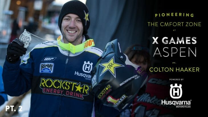 Colton Haaker 2017 Snow BikeCross