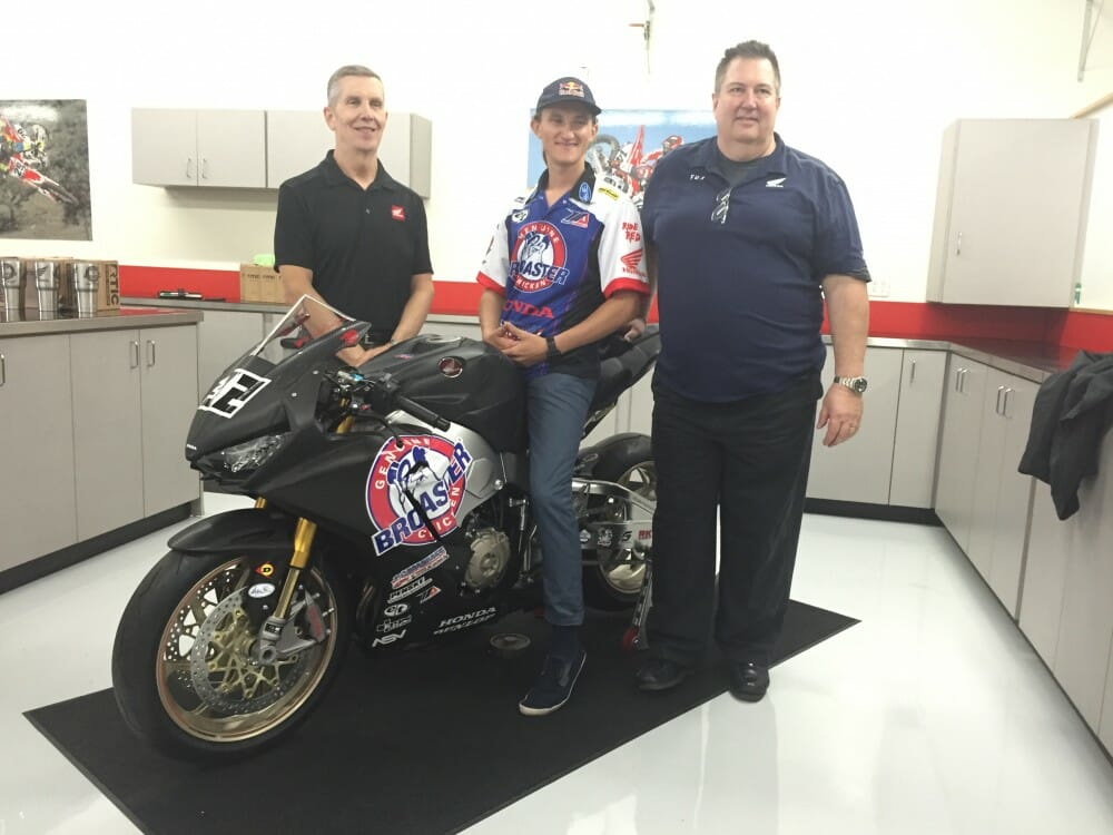 Honda Bringing Superbike Team To MotoAmerica