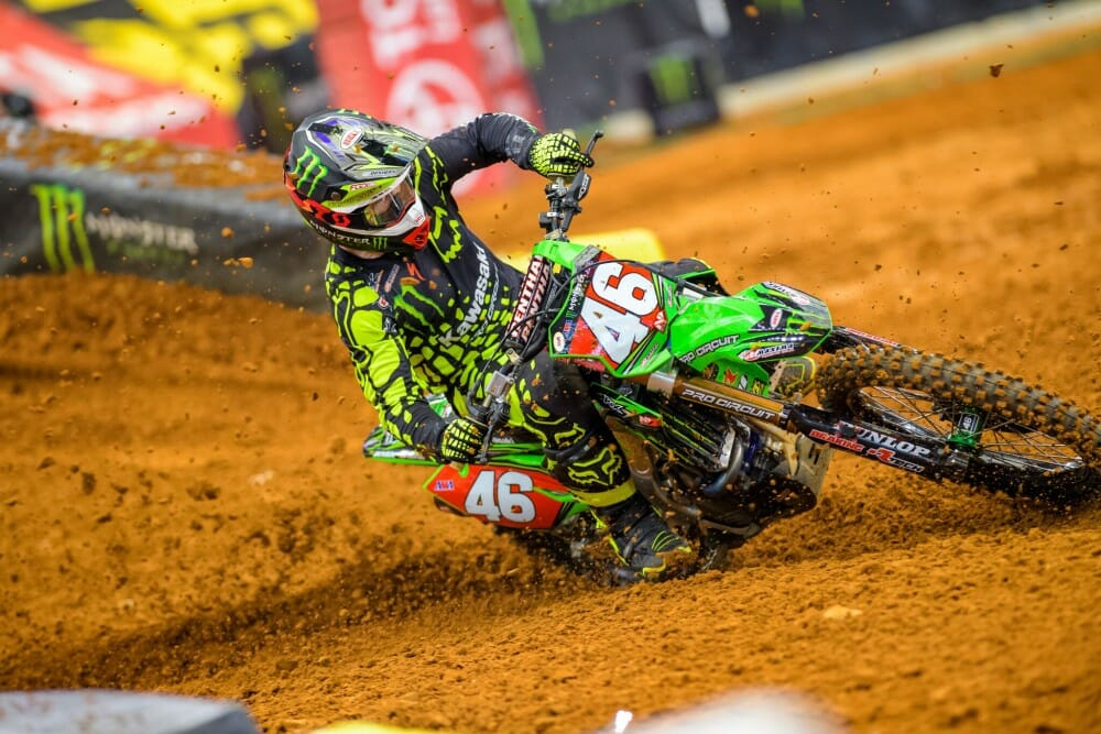 Monster Energy Pro Circuit Kawasaki Justin Hill