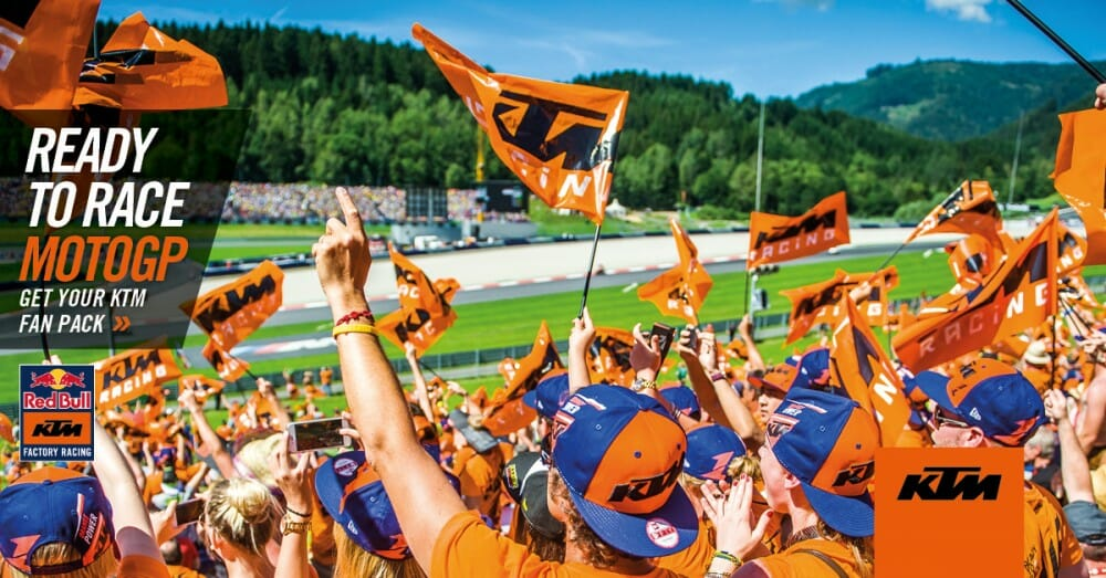 KTM Announces Red Bull MotoGP Fan Pack