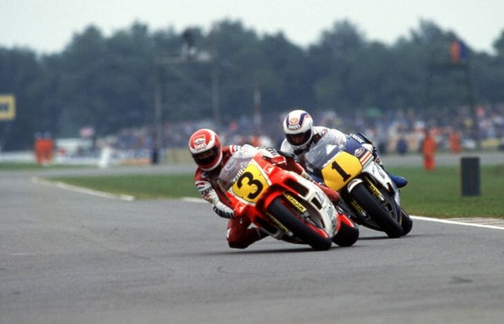 Eddie Lawson (3) and Wayne Gardner (1) had a great GP battle in 1988, with Lawson winning back the World Championship from the Aussie.