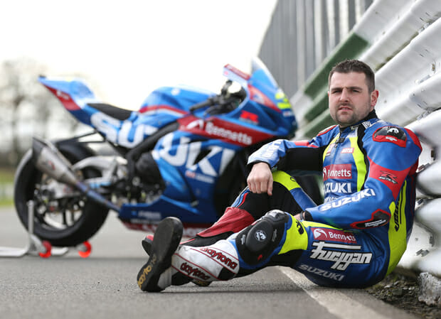 Michael Dunlop set to race new GSX-R1000 with Bennetts Suzuki