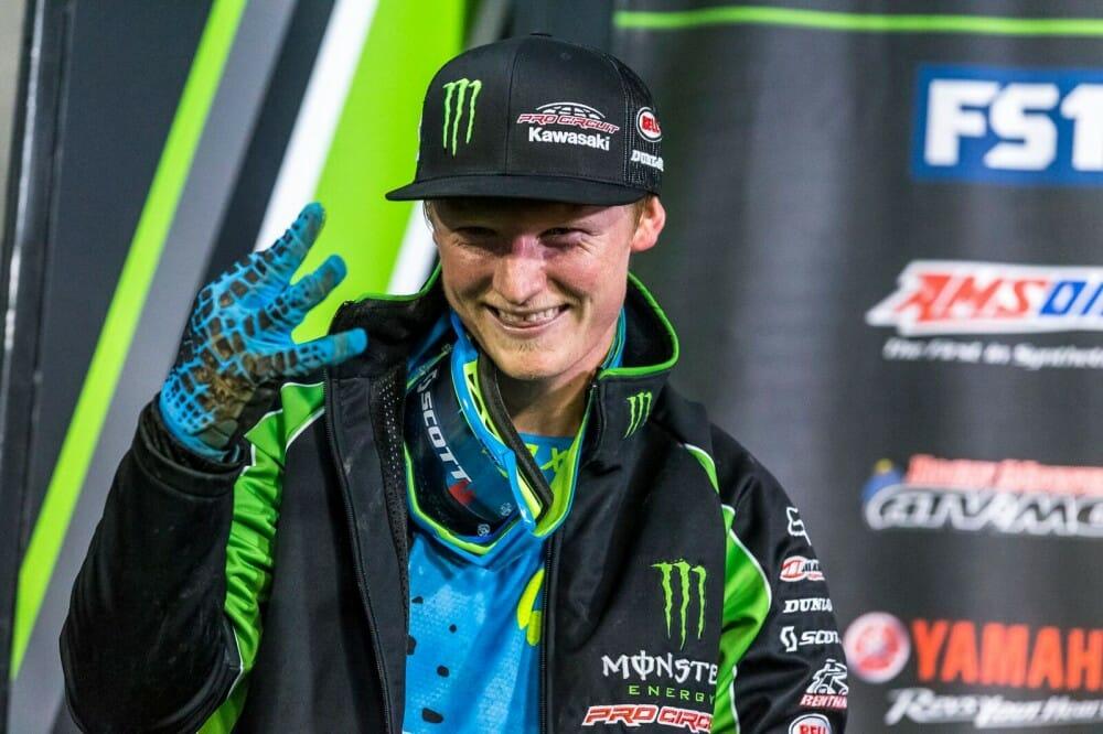 Monster Energy Pro Circuit Kawasaki Justin Hill