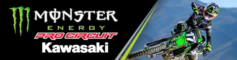 Monster Energy Pro Circuit Kawasaki