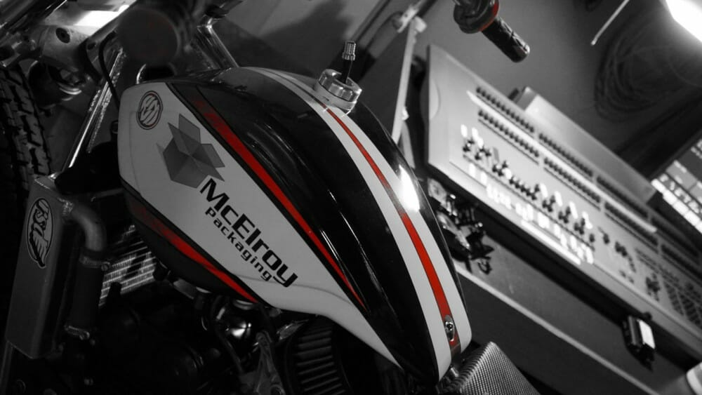 McElroy Packaging returns to American Flat Track