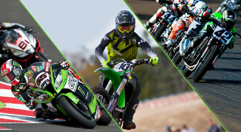 Kawasaki Team Green Announces Unmatched Contingency for 2017