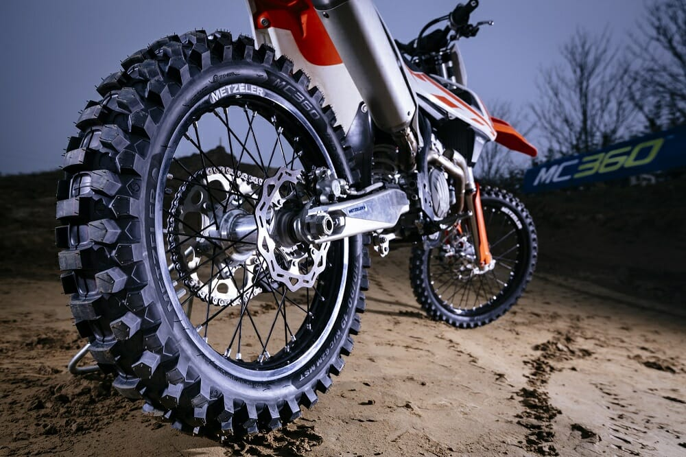 """""""Metzeler at Work"""" With a New Off-Road Tire"""