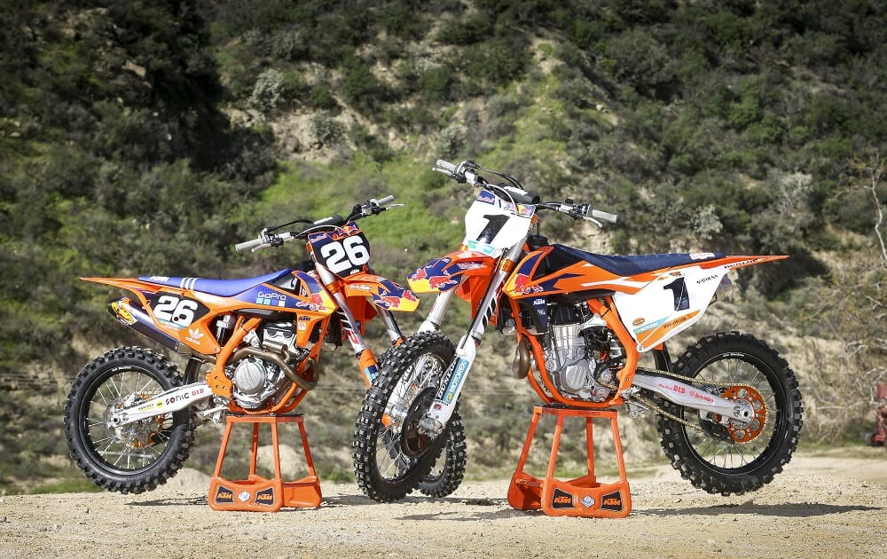 2017 KTM 450 SX-F / 250 SX-F Factory Editions